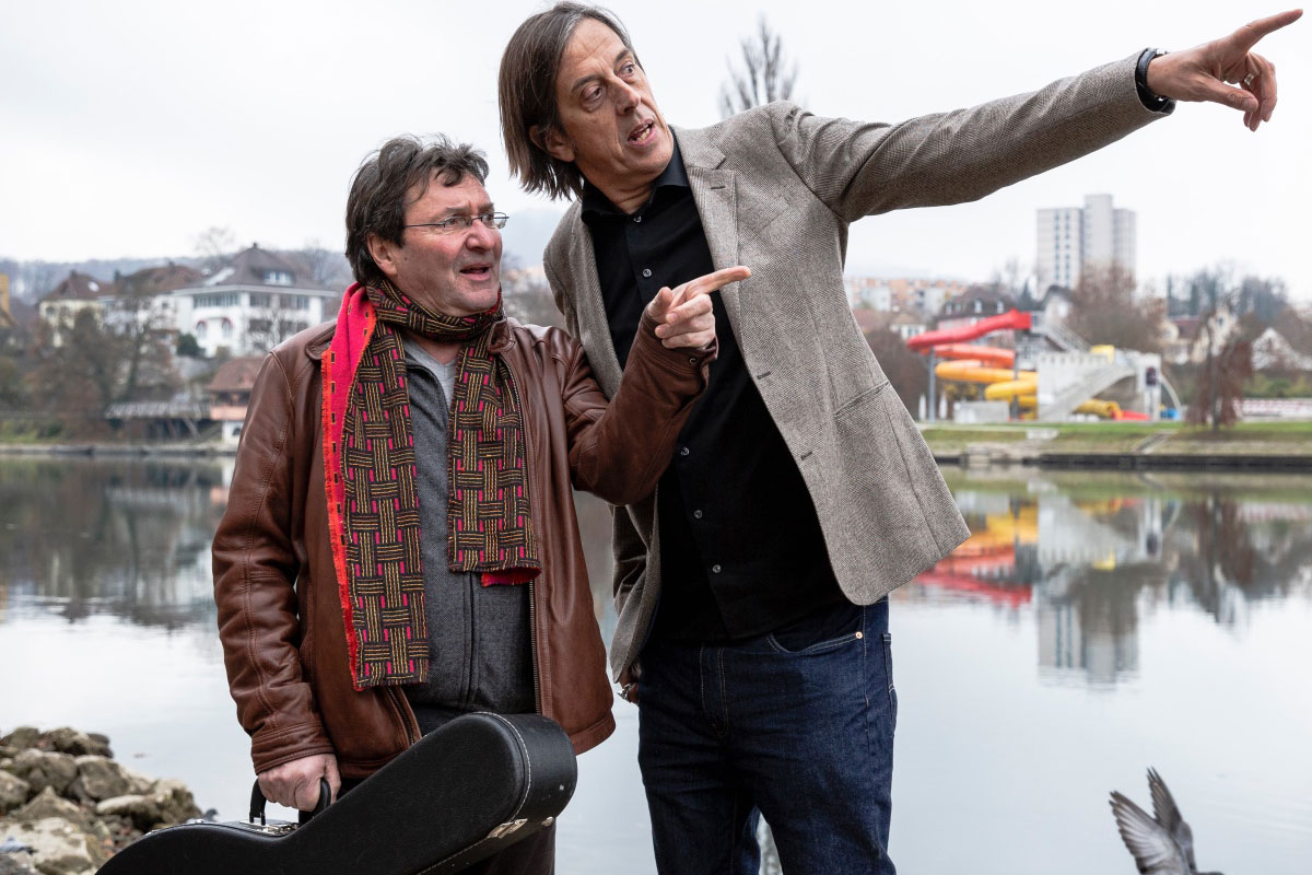 08. November 2019<br/>Pedro Lenz & Max Lässer – Mittelland