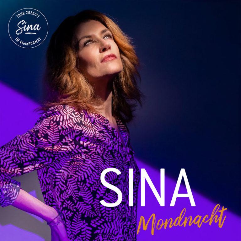 20. Februar 2021<br/>Sina im kleinFORMAT – Mondnacht